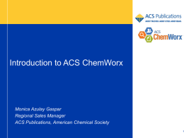 What is ACS ChemWorx?