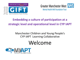 presentation on embedding participation