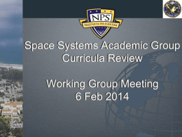Curric Review Meeting 6FEB14