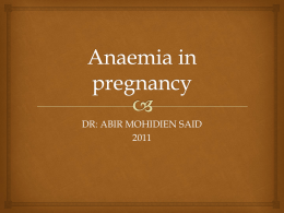 02._Anemia_in_Pregnancy