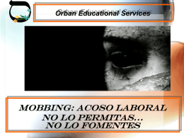 TALLER ACOSO LABORAL 2012