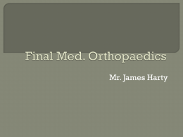 Orthopaedics Review