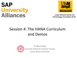 Session_4_HANA_curriculum - Lenoir