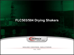 Derrick Drying Shaker Benefits