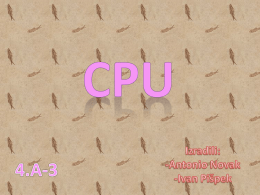 CPU-pispek-novak.ppt