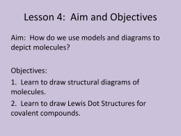 Lesson 4: Aim and Objectives