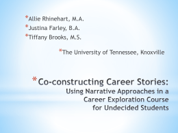 (PPTX, Unknown) - Tennessee Career Development