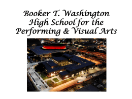 Booker T. Washington High School for the Performing & Visual Arts