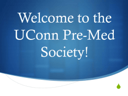 Uconn Pre-Medical Society