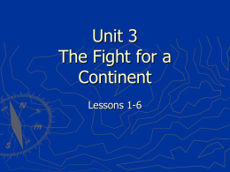 Unit 3 PowerPoint