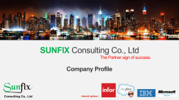 SUNFIX Consulting Co., Ltd
