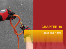 Chapter 10: Ropes and Knots