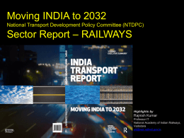 Moving India to 2032 Sector Report Railways Highlights