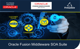 - Oracle Fusion Middleware SOA Suite.ppt