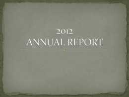 Year-end report - National Commission on Indigenous Peoples