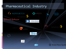 The Global pharmaceutical industry-part-2