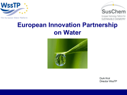 Durk Krol: The water EIP opportunity