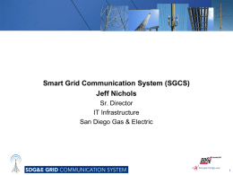 Smart Grid Communication System Presentation