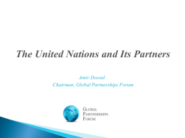here - Global Partnerships Forum