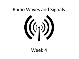 Signals and Waves
