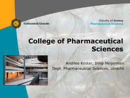 College of Pharmaceutical Science
