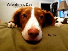 VALENTINE POWER POINT by Deer