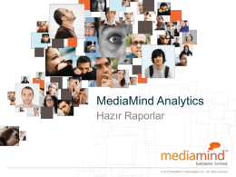MediaMind Analytics