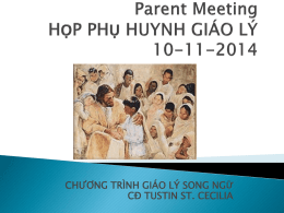 họp phụ huynh 2014-15