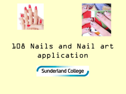 108 Nail art application