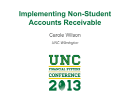 Session Materials - University of North Carolina
