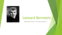Leonard Bernstein pp - Life Learning Cloud