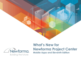 Whats_New_in_Newforma_Project_Center_Eleventh_Edition