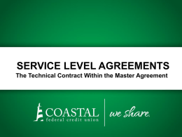 what is a service level agreement?