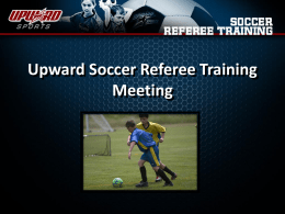 Referee Traning PowerPoint