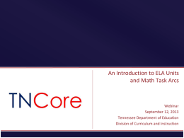 Slide 0 - TN Core