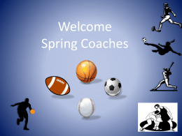 Spring 2014 Parent Information PPT