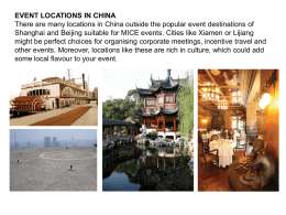 HONG KONG - A List Events International