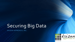 Securing Big Data