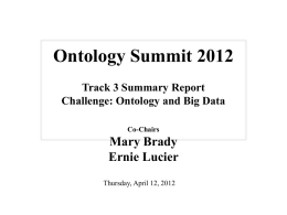 Challenge, Ontology and Big Data_20120412c