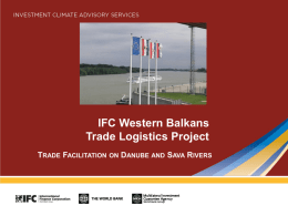 N. Popadic - IFC Western Balkans Trade Logistics Project