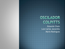 Oscilador Colpitts - electronicaIII-01-201030