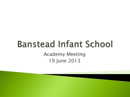 here - Banstead Infant School