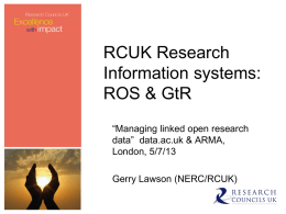 Research Organisations