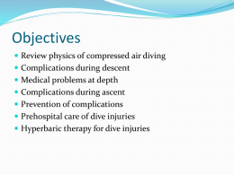 Dive Medicine and Hyperbaric Therapy