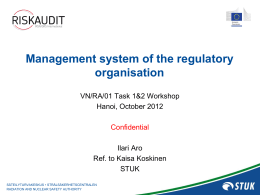 STUK`s Management System