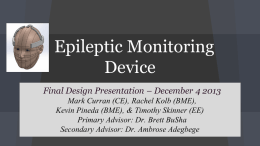 File - Epileptic Monitoring Device