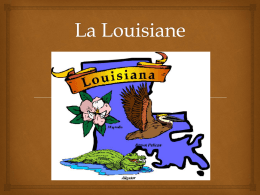 La Louisiane PowerPoint