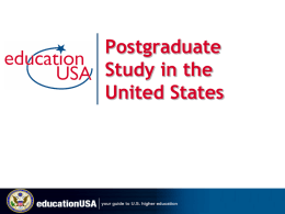 EducationUSA Services for U.S. Institutions