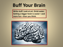 Buff Your Brain