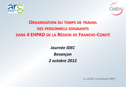 Support Cycles de travail CNEH